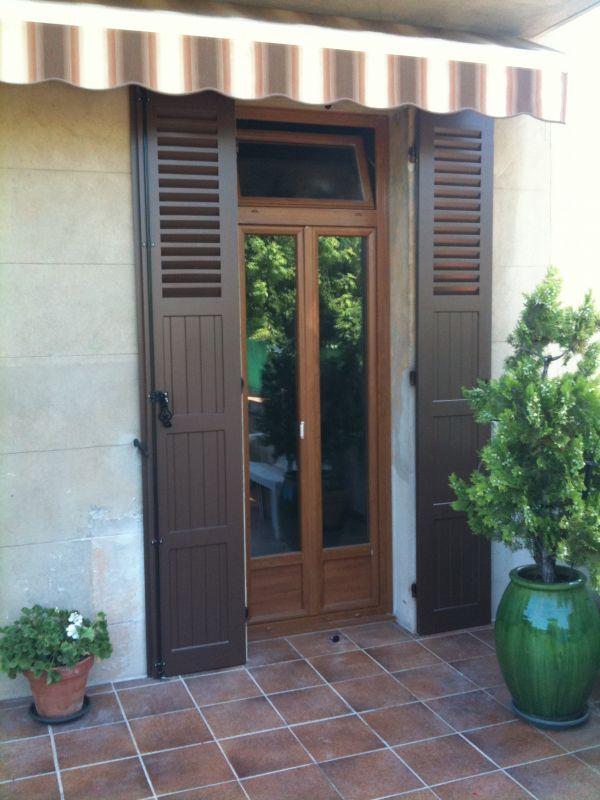 Porte Fenêtre En PVC Imitation Bois Chêne Doré à Auriol 13390 ...