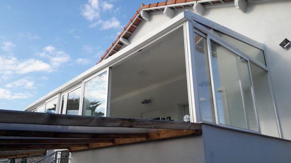 Installation d'une toiture de véranda en thermotop sunisol sur Plan de Cuques 13380 - DESIGN ...